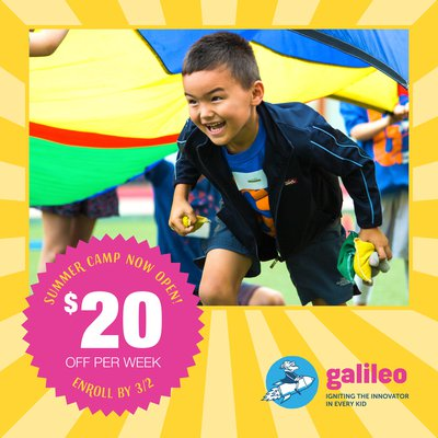 Galileo Summer Camps 2020