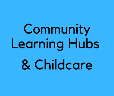 Community Learning Hubs and Childcare