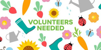 Garden Volunteers Needed