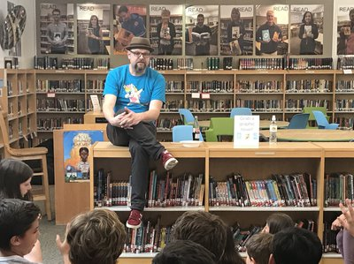 Kent Author Visit Alan Gratz 05-2019
