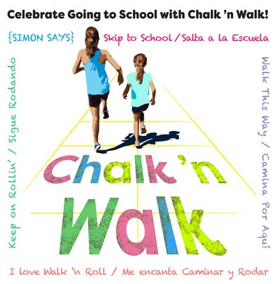 Safe Routes to School Chalk n Walk