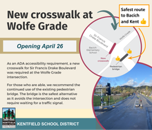 Wolfe Grade Crosswalk Opening April 26