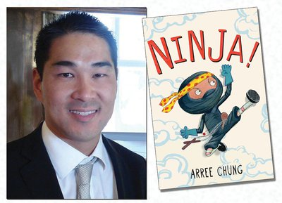 Arree Chung Author Visit at Bacich
